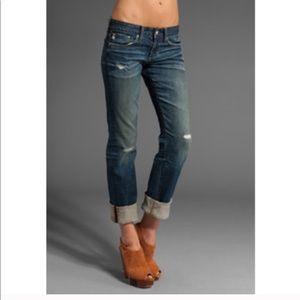 AG Adriano Goldschmied Tomboy Boyfriend Jeans
